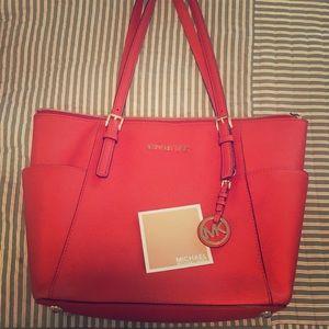 Michael Kors purse orange